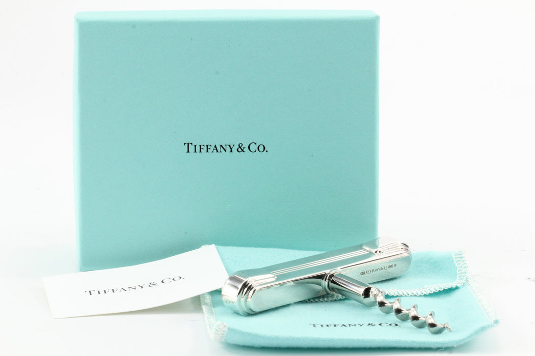 Tiffany & Co Sterling Silver Century Corkscrew NWT - Queen May