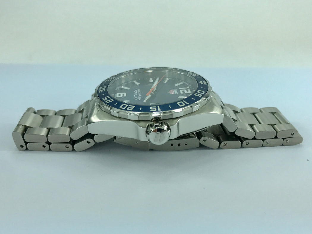 Tag Heuer Formula 1 Blue Dial Stainless Steel Men's WAZ1010 w/box & book - Queen May