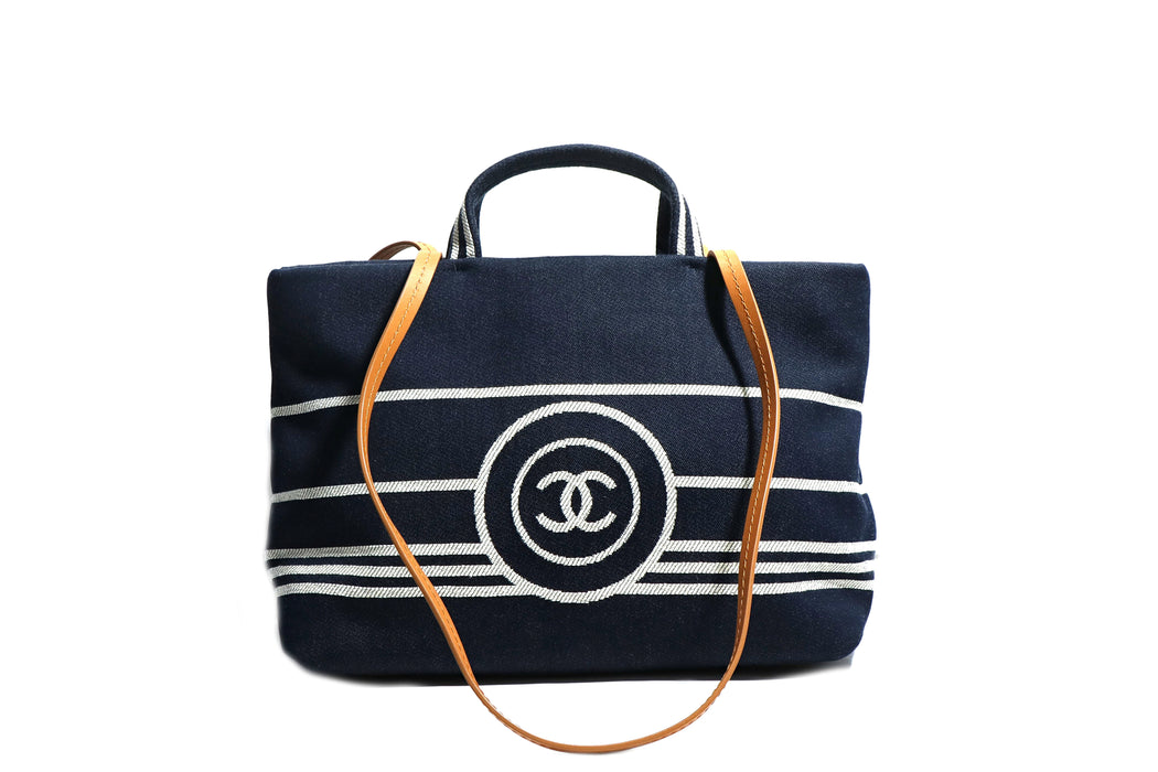 Chanel Denim Tote - Queen May