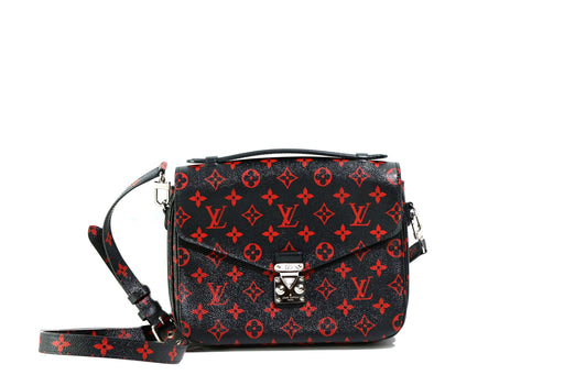 Louis Vuitton Monogram Infrarouge Pochette Metis Bag - Queen May