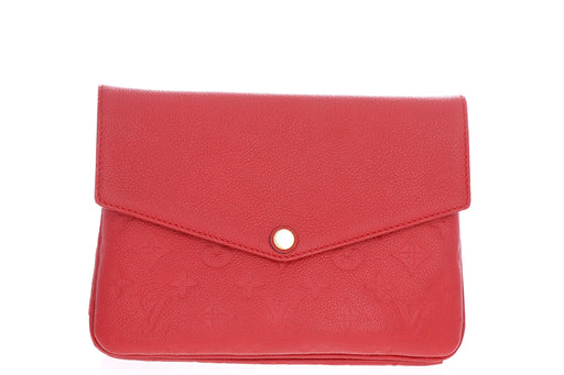 Louis Vuitton Empreinte Twice (Red) - Queen May