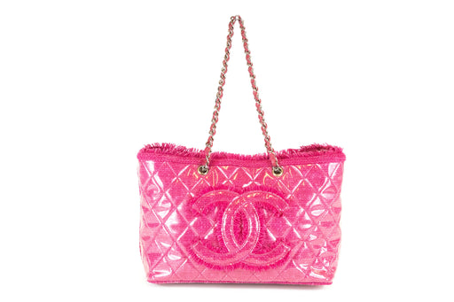 Chanel Funny Tweed Pink Tote - Queen May