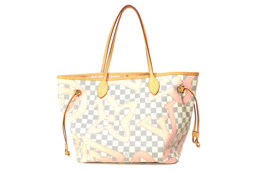 Louis Vuitton Damier Azur Tahitienne Neverfull MM - Queen May