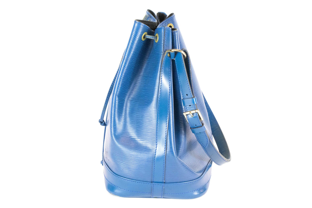 LOUIS VUITTON  Epi Noe Bag (Blue) - Queen May