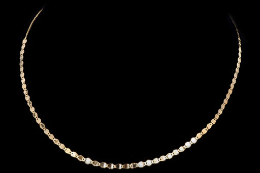 New 14K Gold Valentina Choker Chain Necklace - Queen May