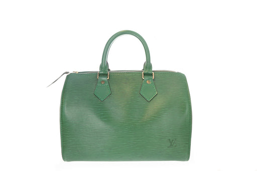 Louis Vuitton Epi Green Speedy 25 - Queen May