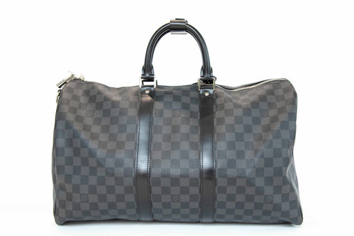Louis Vuitton Damier Graphite Bandouliere Keepall 45 - Queen May