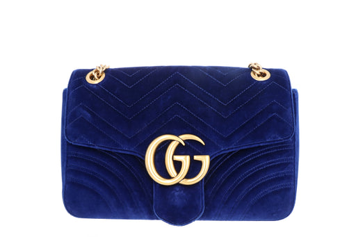 Gucci Medium GG Marmont Matelasse Shoulder Bag - Queen May