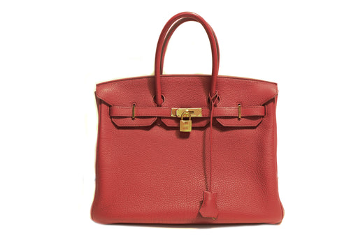 Hermès Togo Birkin 35 - Queen May