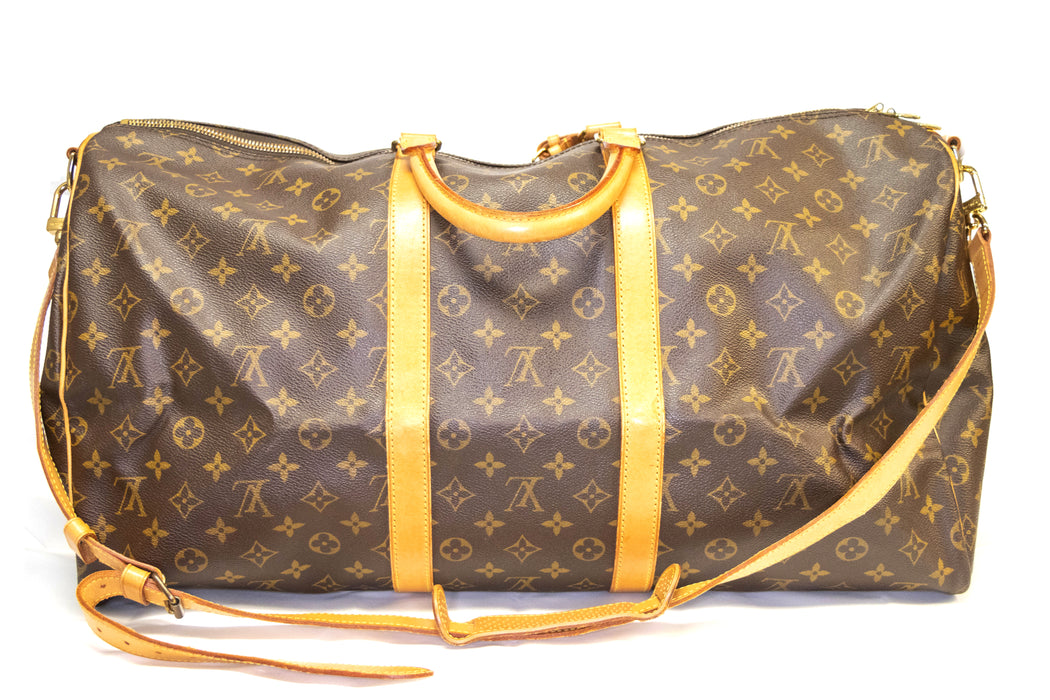 Louis Vuitton Monogram Keepall Bandoulière 55 - Queen May