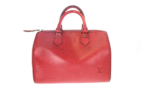 Louis Vuitton Epi Red Speedy 25 - Queen May
