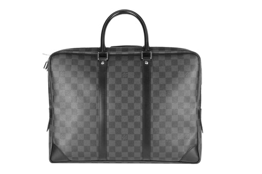 Louis Vuitton Damier Graphite Porte-Documents Voyage Briefcase - Queen May