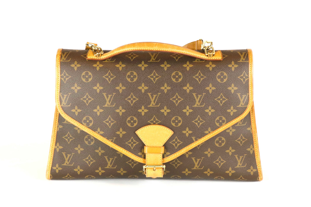 Louis Vuitton Bel Air Monogram Large Hand Bag - Queen May