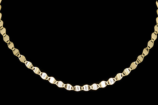New 14K Yellow Gold Valentina Choker Chain Necklace - Queen May