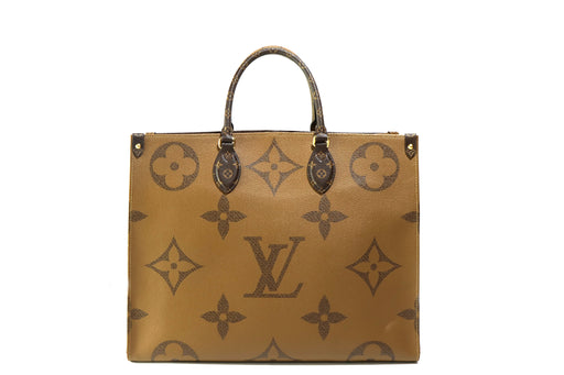 Louis Vuitton Rare Monogram  Giant OnTheGo GM Tote - Queen May