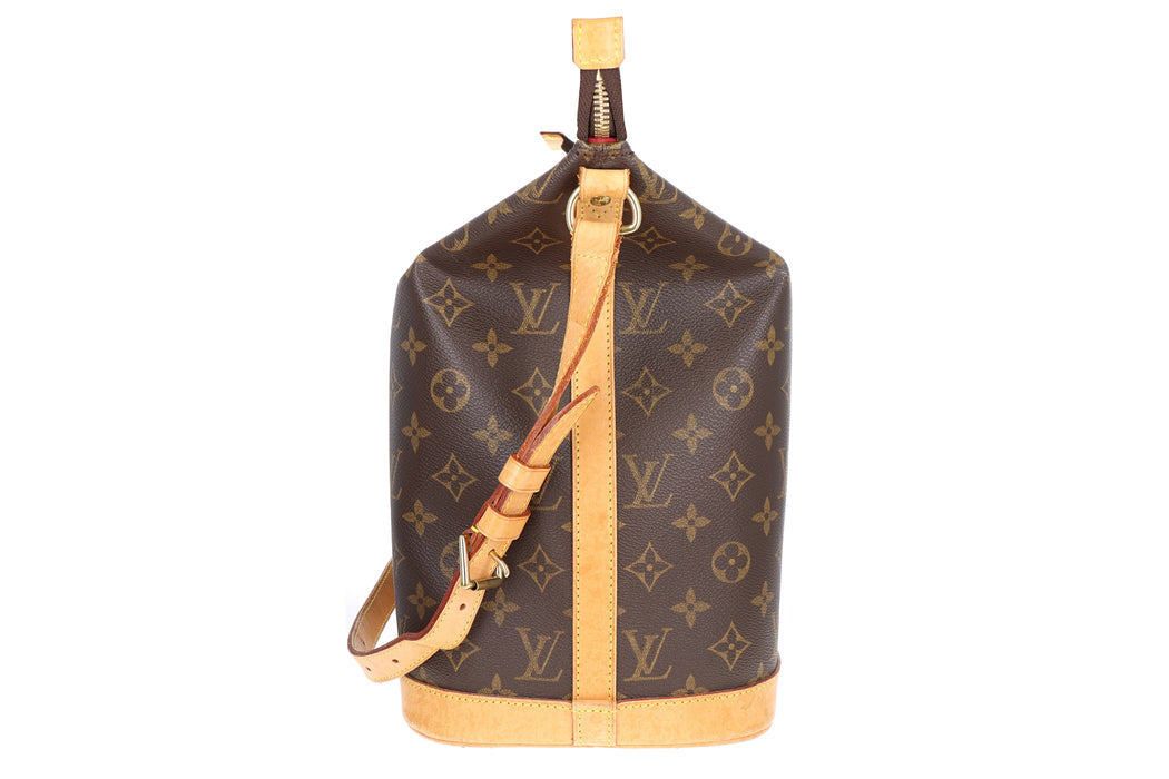 Louis Vuitton Limited Edition Monogram Sharon Stone Vanity Shoulder Bag - Queen May