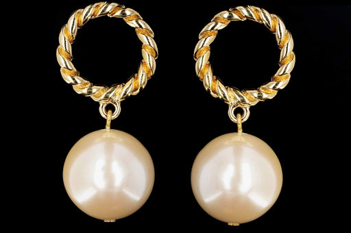 Givenchy Statement Pearl Earrings - Queen May