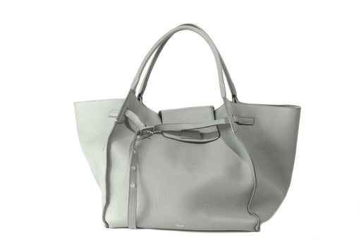 Celine Grey Grained Calfskin Medium Big Bag By Phoebe Philo - Queen May