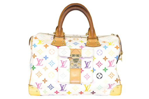Louis Vuitton Multicolore Monogram Speedy 30 - Queen May