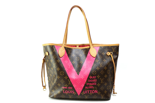 Louis Vuitton Monogram V Neverfull MM - Queen May