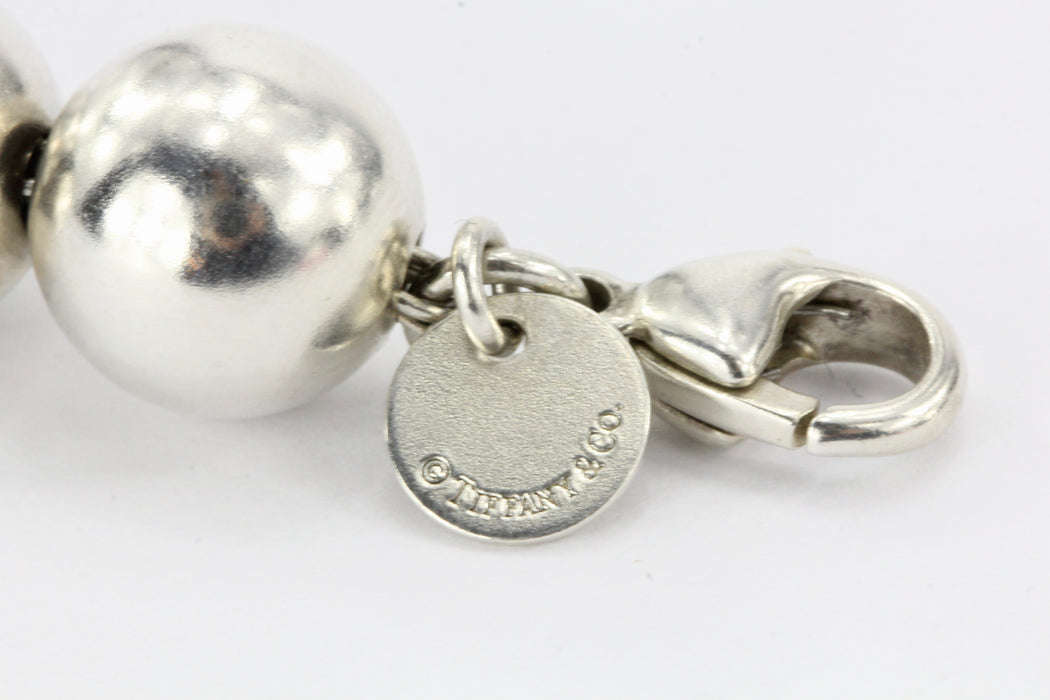Tiffany & Co. Sterling Silver Hardwear Ball Bracelet - Queen May