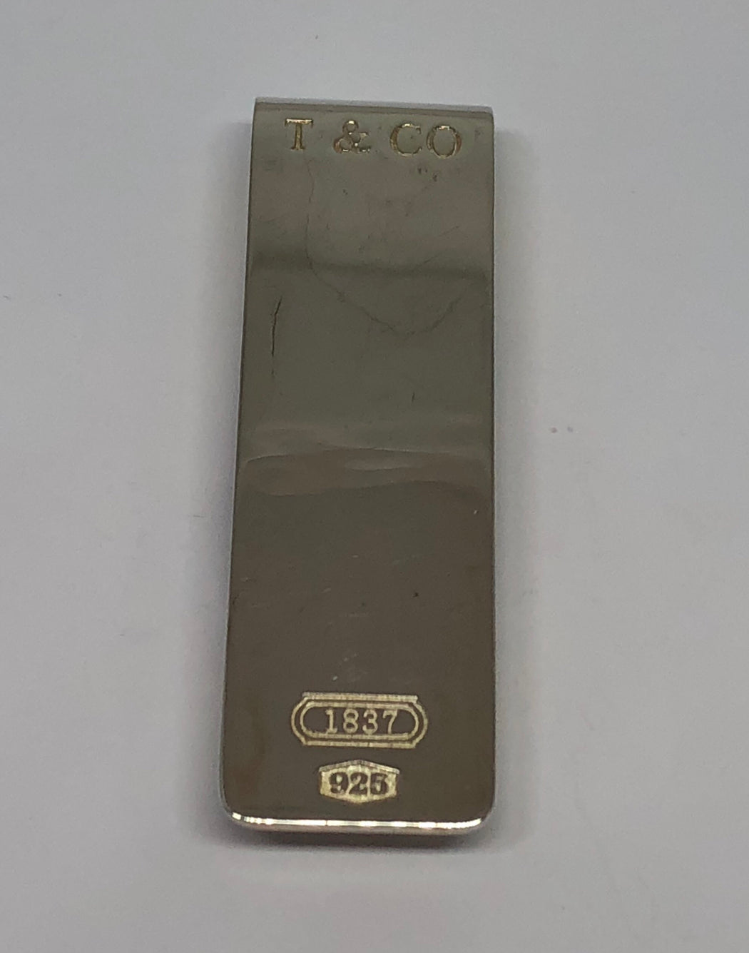 Tiffany & Co 1837 Sterling Silver Money Clip - Queen May