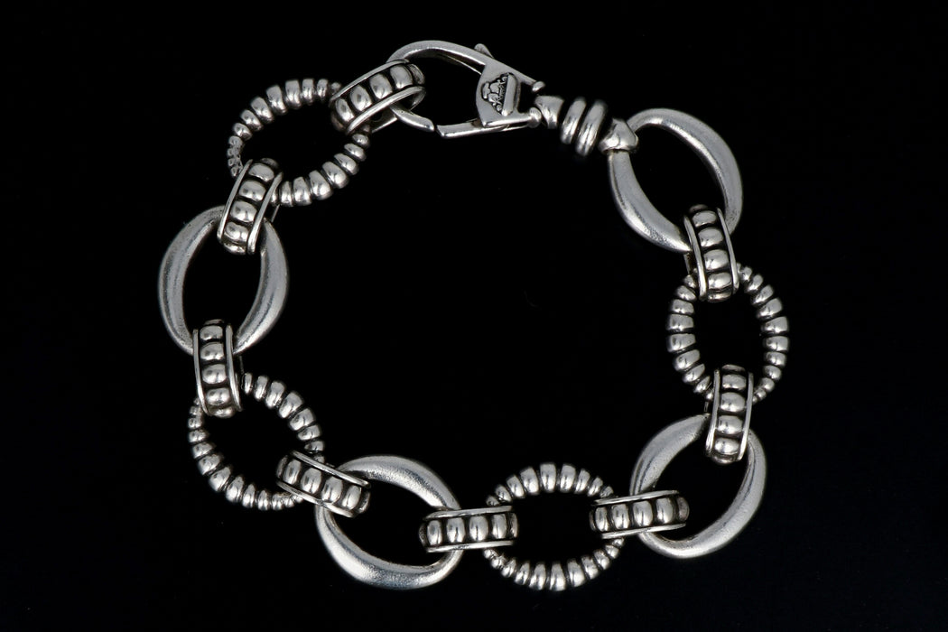 Lagos Oval Link Bracelet - Queen May