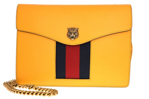 Gucci Animalier Leather Crossbody Bag - Queen May