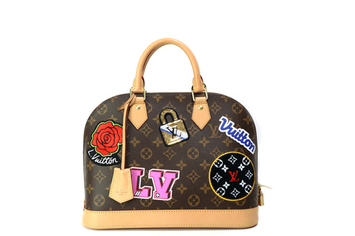 Louis Vuitton Limited Edition Patches Alma - Queen May