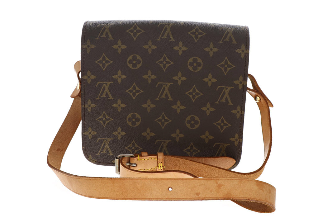 Louis Vuitton Vintage Monogram Cartouchiere MM - Queen May