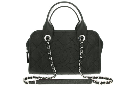 Chanel Caviar Deauville Bowling Bag - Queen May