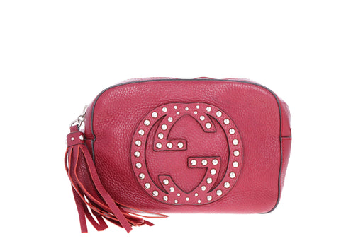 Gucci Small Soho Studded Disco Bag - Queen May