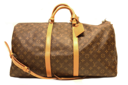 Louis Vuitton Monogram Keepall Bandouliere 55 - Queen May