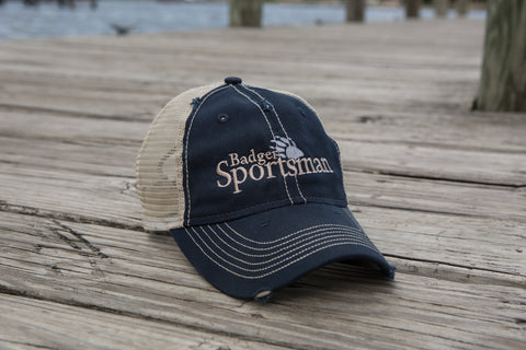 Badger Sportsman baseball cap blue