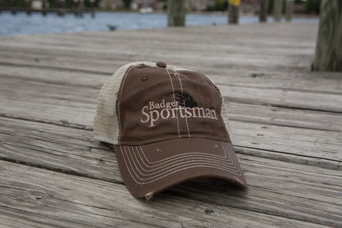 Badger Sportsman Baseball Cap Brown