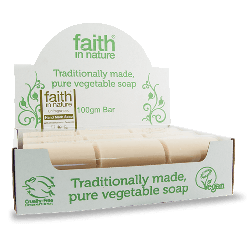Faith in Nature soap - Organic Bliss
