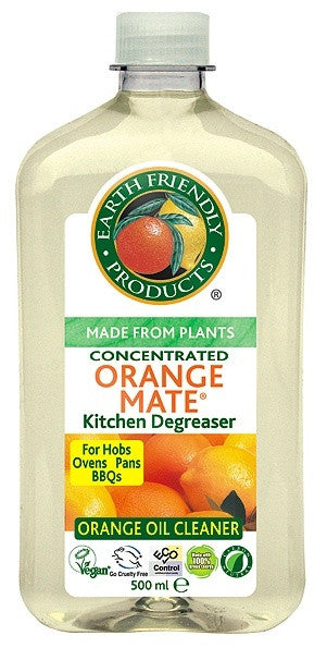 Earth Friendly Orange Mate kitchen degreaser - Organic Bliss