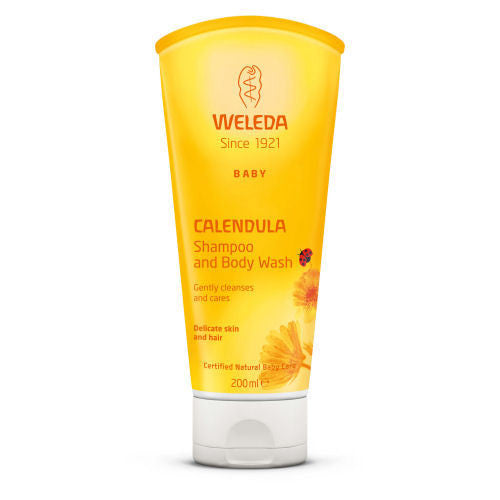 Weleda Baby Calendula Shampoo and body wash - Organic Bliss