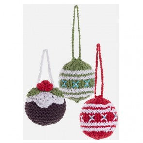 Christmas Knitted Decorations