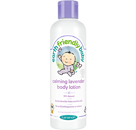 Earth Friendly Baby - Calming Lavender Body Lotion - Organic Bliss