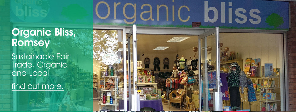 Organic Bliss Our shop!
