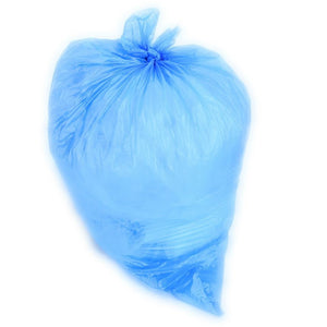 40 Gallon Garbage Bags: Blue, 1.5 MIL, 33x46, 100 Bags.