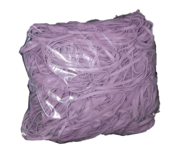 Rubber Bands #33: #33 Size,  Argyle Purple, 1LB/500 Count.