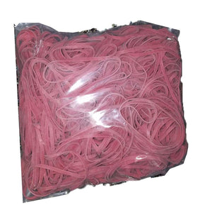 Rubber Bands #33: #33 Size,  Barn Red, 1LB/500 Count.