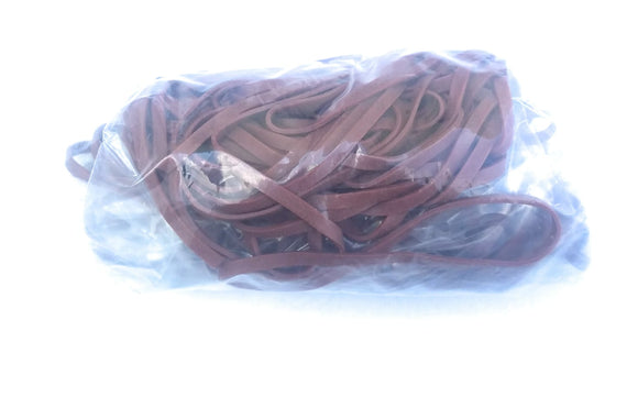 Rubber Bands #33: #33 Size, Brown, 100 Count.