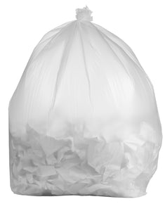 100 Gallon Contractor Bags: Clear, 3 Mil, 67x79, 10 Bags/Case.