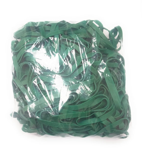 Rubber Band #64: #64 Size, Green Rubberbands, 1LB/250 Count.