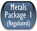 Metals Package 1-EPA Regulated