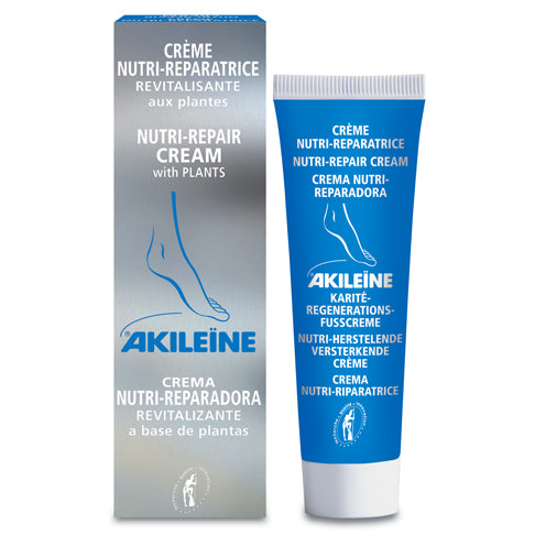 AKILEINE Dry Foot Nutri-Repair Cream - pocket size 30ml - The Beauty Shoppers