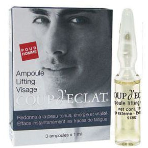 COUP D'ECLAT Energizing Vials for Men 3x1ml - The Beauty Shoppers